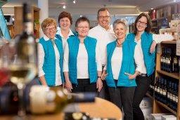 Das Team der Vinothek